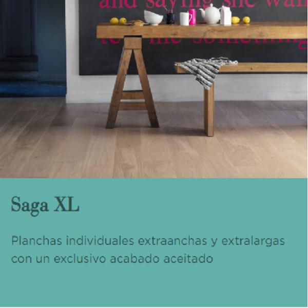BERRYALLOC PARQUET CATEGORIA SAGA XL, Tarima Flotante de Madera, Parqué